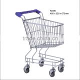 Low price 100L unfolding toy Shopping Trolley for kids