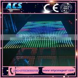 2015 ACS hot sales Interactive Led dance floor,digital led dance floor
