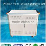Moveable Storage charging cart Ipad laptop tablet charging cart charging locker