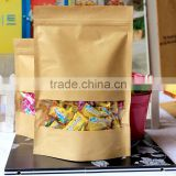 Make In China Wholesale Fashion Candies Snacks Dry Fruit Paper Packaging Custom Paper Zip Lock Bag