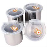 jars with plastic seal lids mason stainless steel food jars