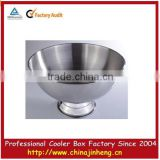 High quality metal wine ,beer, champagne ice bucket in gold