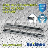 BS-AN05-004 zinc alloy hammer drive nail anchor round head