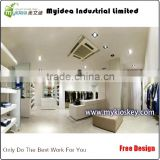 New Design mall used retail clothing store furniture and clothes store shelf
