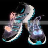 2 NEW Pairs of LED Light-Up Flashing Shoe Laces: Fits All Sneakers!