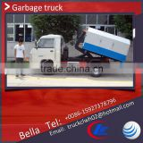 FORLAND mini garbage collector truck , cheap price 1m3 hook lift garbage truck