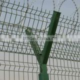 High Quality Y Post Fence/Razor Barbed Wire Fence/Airport Fence