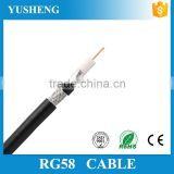 China Manufactures High Quality RG58, RG8, RG59, RG6 Stranded or Soild Copper Coaxial Cable
