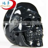 Natural mineral stone carving furnishing articles skull in hand crafts alternative collections