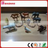 Have mold The simulation animal dolls pvc toys Plastic doll furnishing articles The simulation polar rhinoceros educational toys