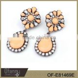 2014 NEW FASHION STYLE ARRIVAL FASHION STONE EAR RINGS