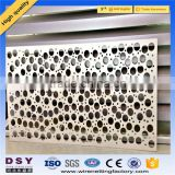 Trade Assurance 304 316 stainless steel Perforated metal, perforated sheet, perforated plate for Decoration