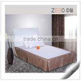 Hot Selling 3 Star Hotel Used Wholesale Polyester Bed Skirt Manufacturer