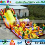 Russia style huge air bouncer inflatable trampolines from china                                                                         Quality Choice