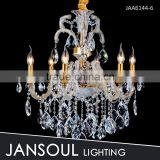 6 lights high quality cheap modern crystal mini chandelier