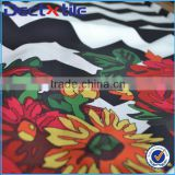 3D digital printing chiffon kaftans fabric 100% polyester fabric for kaftans                                                                         Quality Choice