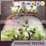 Microfiber brushed 3D disperse printed bed sheet/mattress fabric for home textile with new DESIGNS