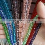 Lasted fashion clear shing beauty round crystal glass beads                                                                         Quality Choice