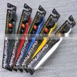 disposable travel toothbrush / high quality Japanese Binchotan Charcoal tooth brush [Made in Japan]