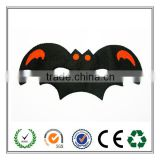 Bat Shape Popular Halloween Felt Face Mask Hot New Products for 2016