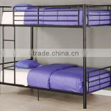Dormitory Furniture double decker metal bed metal bunk beds