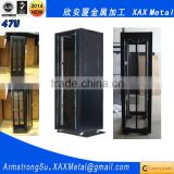 XAX4701 47U ventilated fan airflow perforated front and rear locking doors Rack mount Rackmount Server Cabinet
