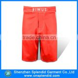new style boys pants red fashion 100% cotton fitted shorts