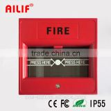 Fireproof Emergency Break Glass Fire Alarm System Manufacturer (ALF-Eb03)                                                                         Quality Choice
