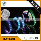 28.8W/M DC12V IP20/IP65 SMD5050 LED strip lighting CE Rohs Remote Controlled Battery Operated Led Strip