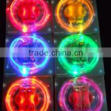 Party Gift Led Lighted Shoelace Holiday Promotional in the night LED lighting luminescent lace