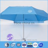 Custom logo printed sun umbrella