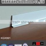 Aluminium flooring profile skirting board-XGX991
