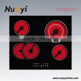 New kitchen home appliances cheap glass plate ceramic cooking stoves with ce certificate