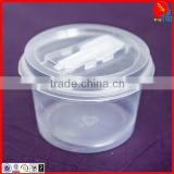 High quality clear PP microwave soup bowl with lid                                                                         Quality Choice