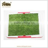 Ekia Dog Grooming Product Indoor Pet Dog Cat Toilet With Grass Mat