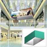 10ft x 5ft Ceiling Banner Display Trade Show Rectangle Hanging Sign (Single Sided Graphic)