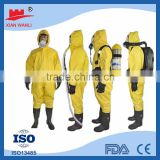 Type5/Type6 waterproof uniform Disposable microporous orange womens work wear coveralls                                                                         Quality Choice