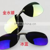 Myopia sunglasses polarized clip Night vision goggles coupon Magnesium aluminum clip factory direct saling