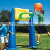 outdoor folding toy plastic inflatable basketball hoop