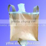 anti-static and water-proof fabric big bag/ventilated U-panel baffle bag/any size and color