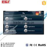 42inch multi-point infrared touch screen for indoor ir touch screen table