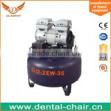 CE approvel !! cheap price dental air compressor/ dental lab equipment dental oilless air compressor