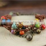 Wholesale Handwoven Ceramic Beads Bracelet                                                                         Quality Choice