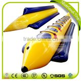 Hot Selling NEVERLAND TOYS Best Quality Boats Funny Cheap Inflatable Boat 8 Person Yellow Banana Boat Fly Fish For Sale