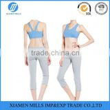 2015 hot sales wholesale Ladies fashion sexy yoga wear fitness clothing apparel