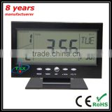 China Manufacturer 2015 Desktop Calendar, Desktop Calendar, Digital Clock With Calendar Temperature Desktop