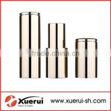 Beautiful empty luxury lipstick tube for cosmetic packing