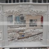 The most beautiful& best quality china natural gas fireplace frame