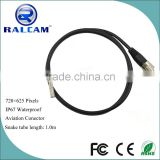 5 pin connector 720*576 pixel 5.5mm flexible cable camera for connecting borescope monitor