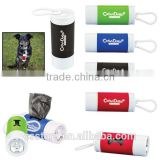 Pet Waste Disposal Bag Dispenser w Flashlight